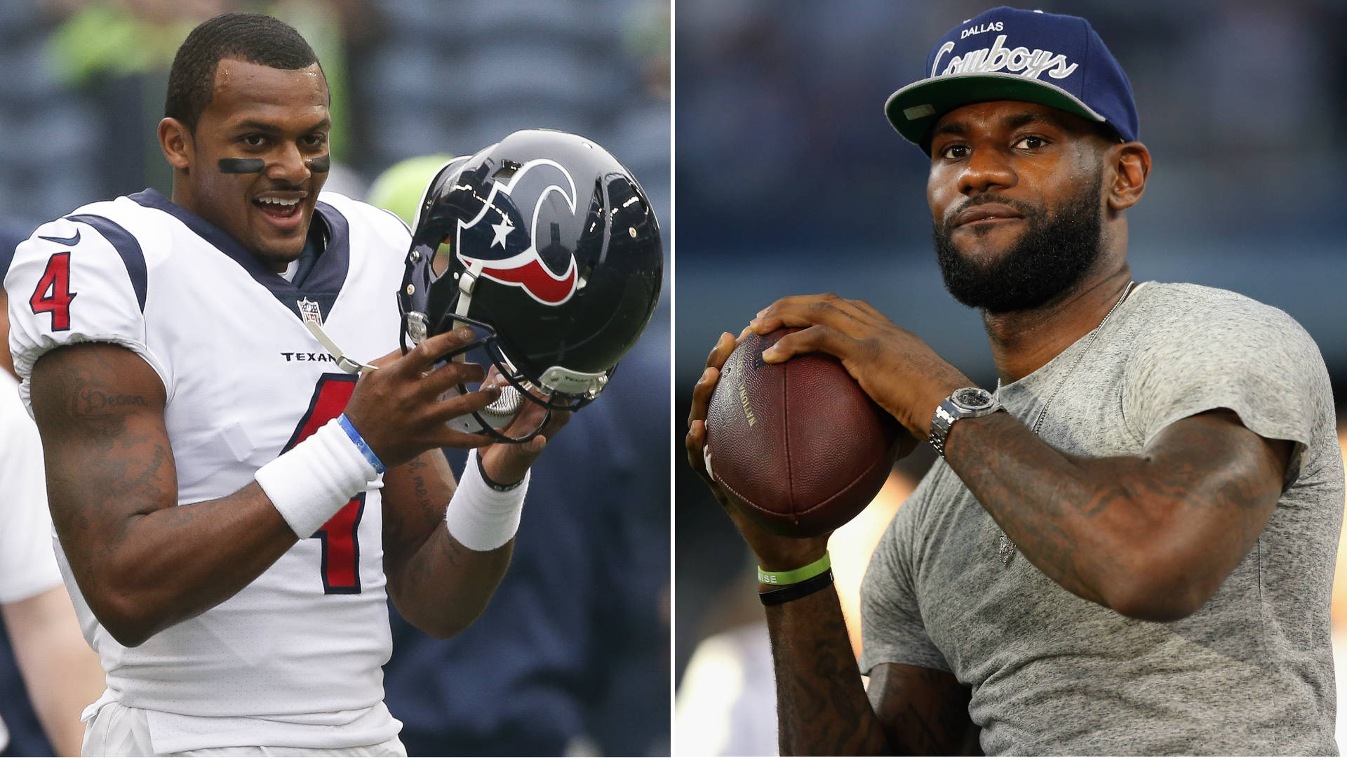 LeBron James: 'Deshaun Watson should be a Brown'