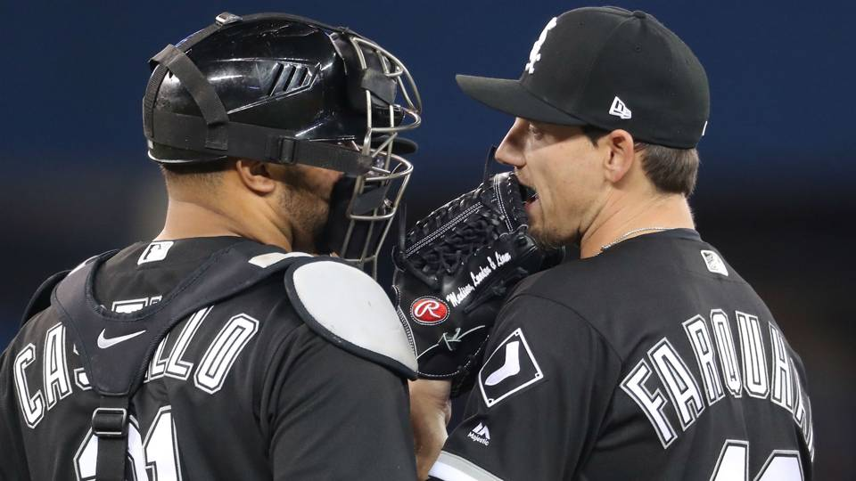 Danny Farquhar and Welington Castillo