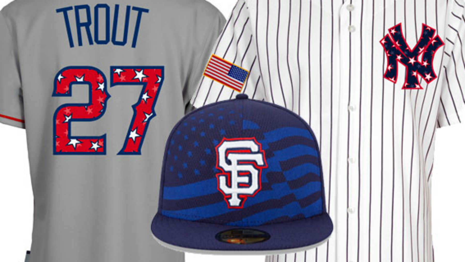 MLB unveils Fourth of July caps 24128d9c101