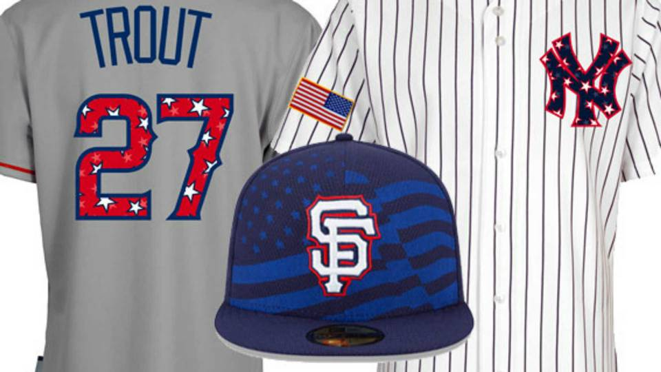 MLB unveils Fourth of July caps f95943b44b7