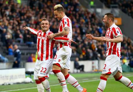 Shaqiri the star man for Stoke