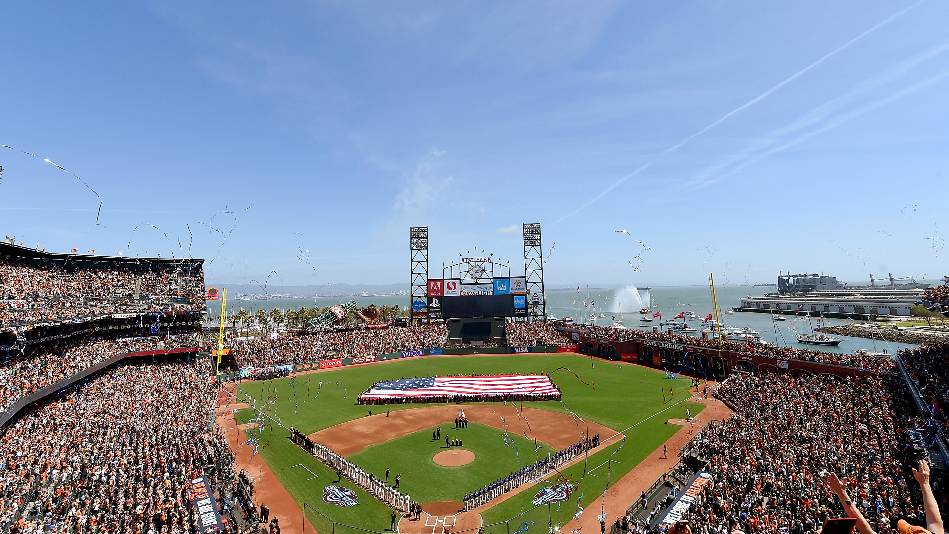 Natural disaster  hits during Reds, Giants game