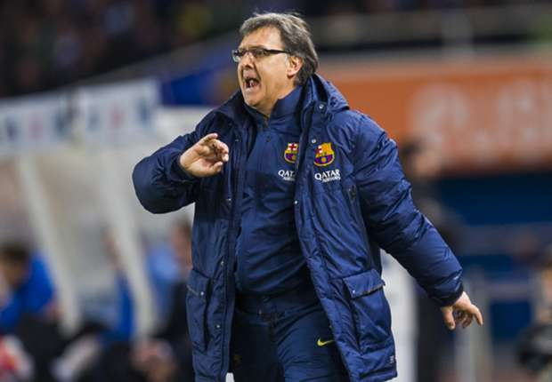 Martino: Barca defeat my fault