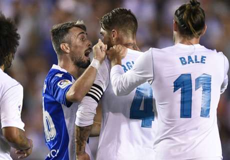 Ramos equals Liga red card record