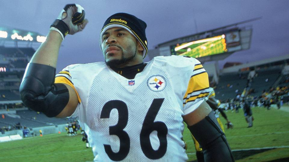Hall of Famer Jerome Bettis