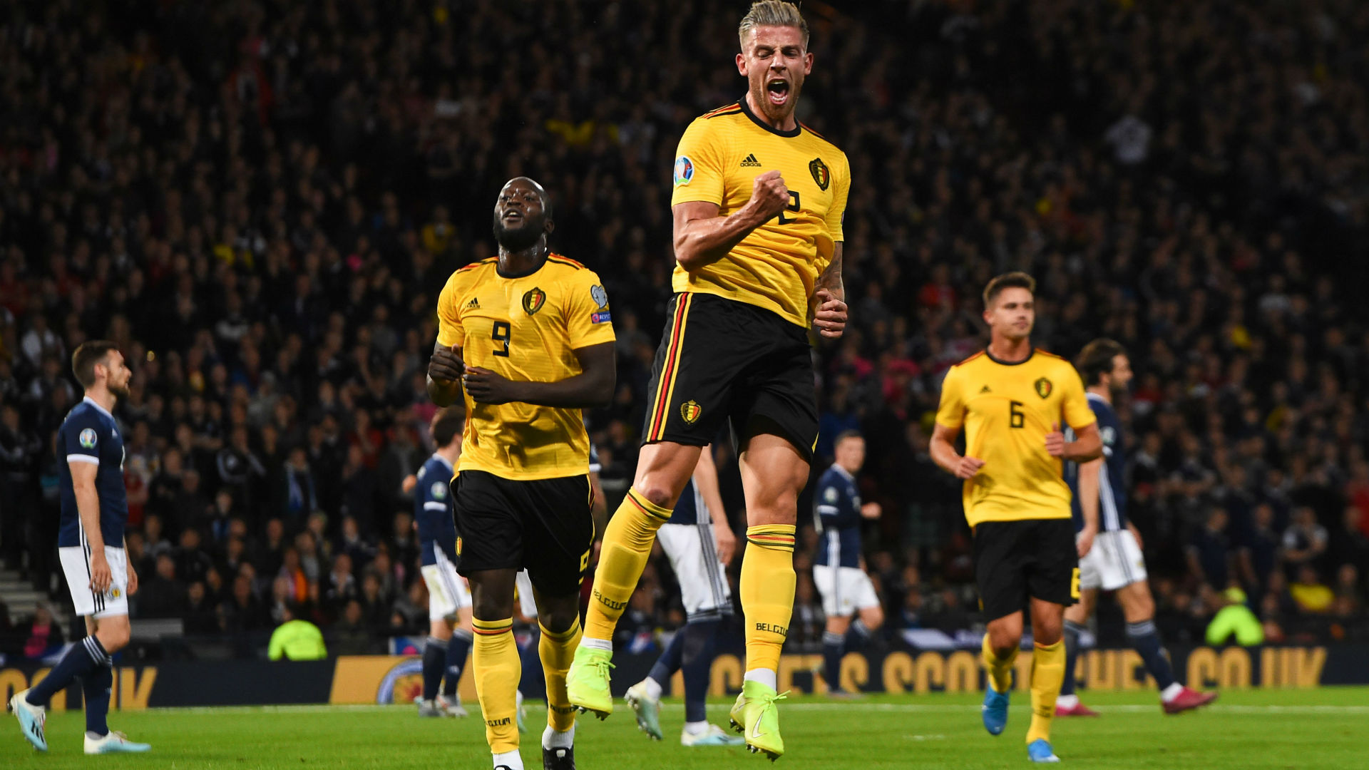 Scotland 0-4 Belgium: De Bruyne shines on miserable night for Scots