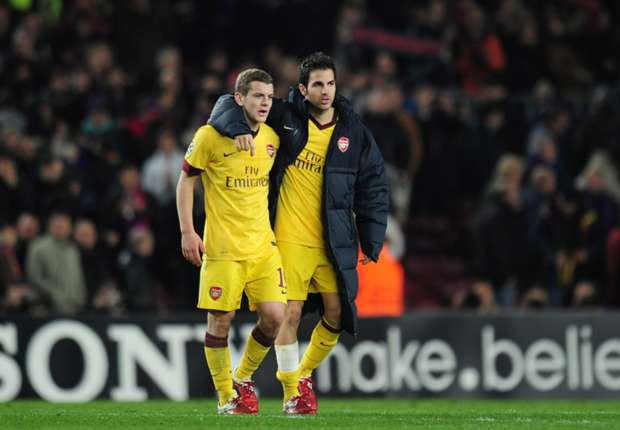 Wilshere 'upset' by Fabregas departure from Arsenal