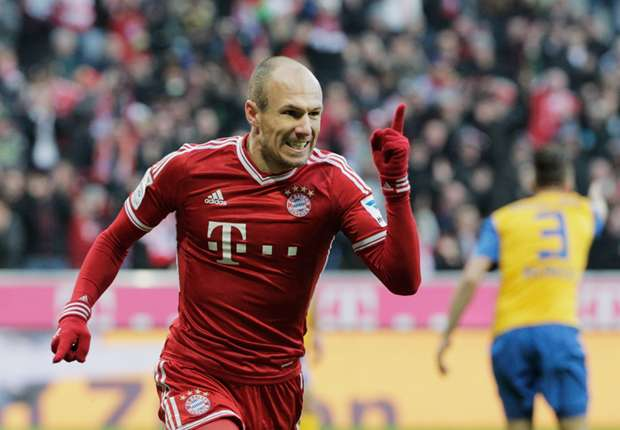 Bundesliga Team of the Week: Robben leads Bayern to victory