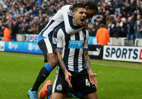 Newcastle 1-0 West Brom: Mitrovic goal