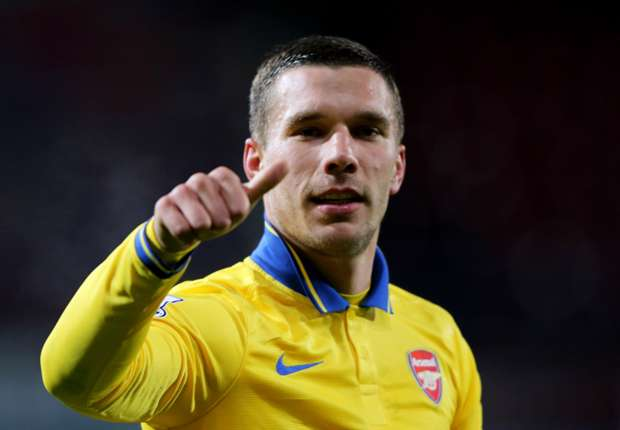 Podolski: Title won't be decided now