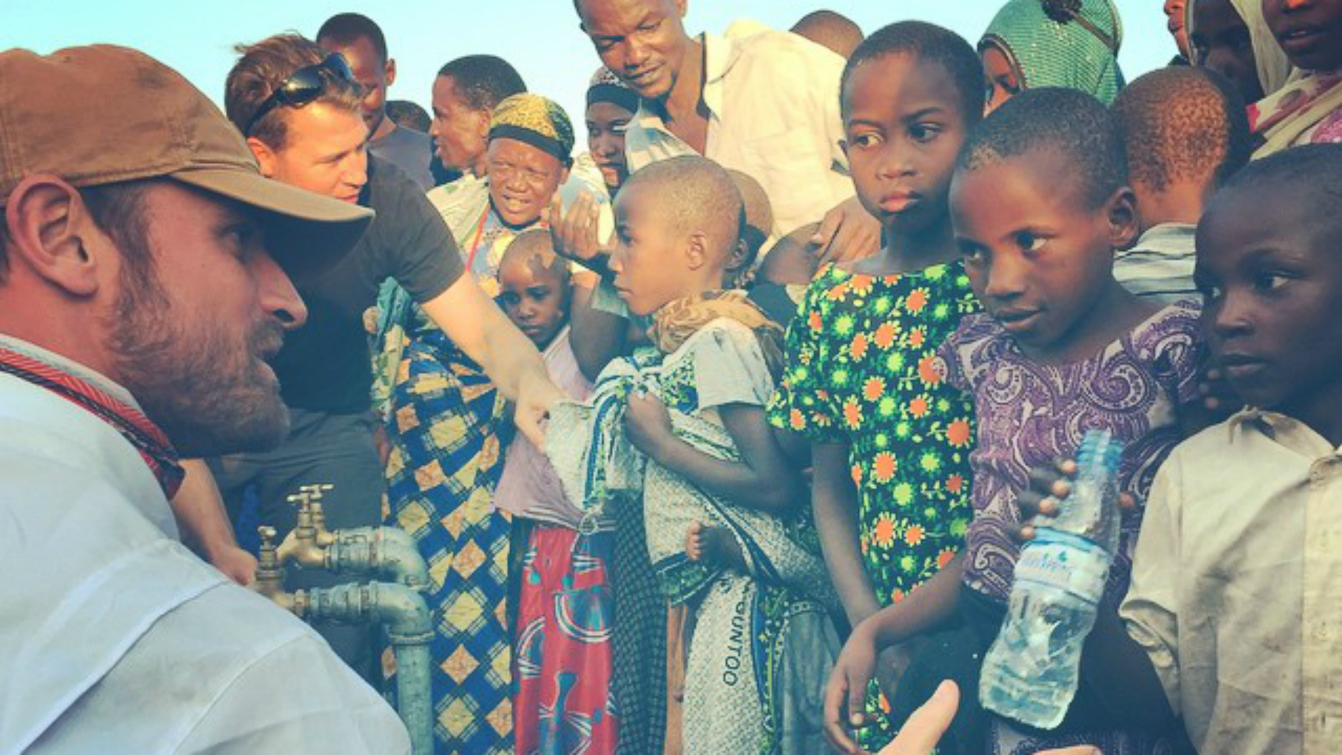 Chris Long travels to Tanzania, provides clean water