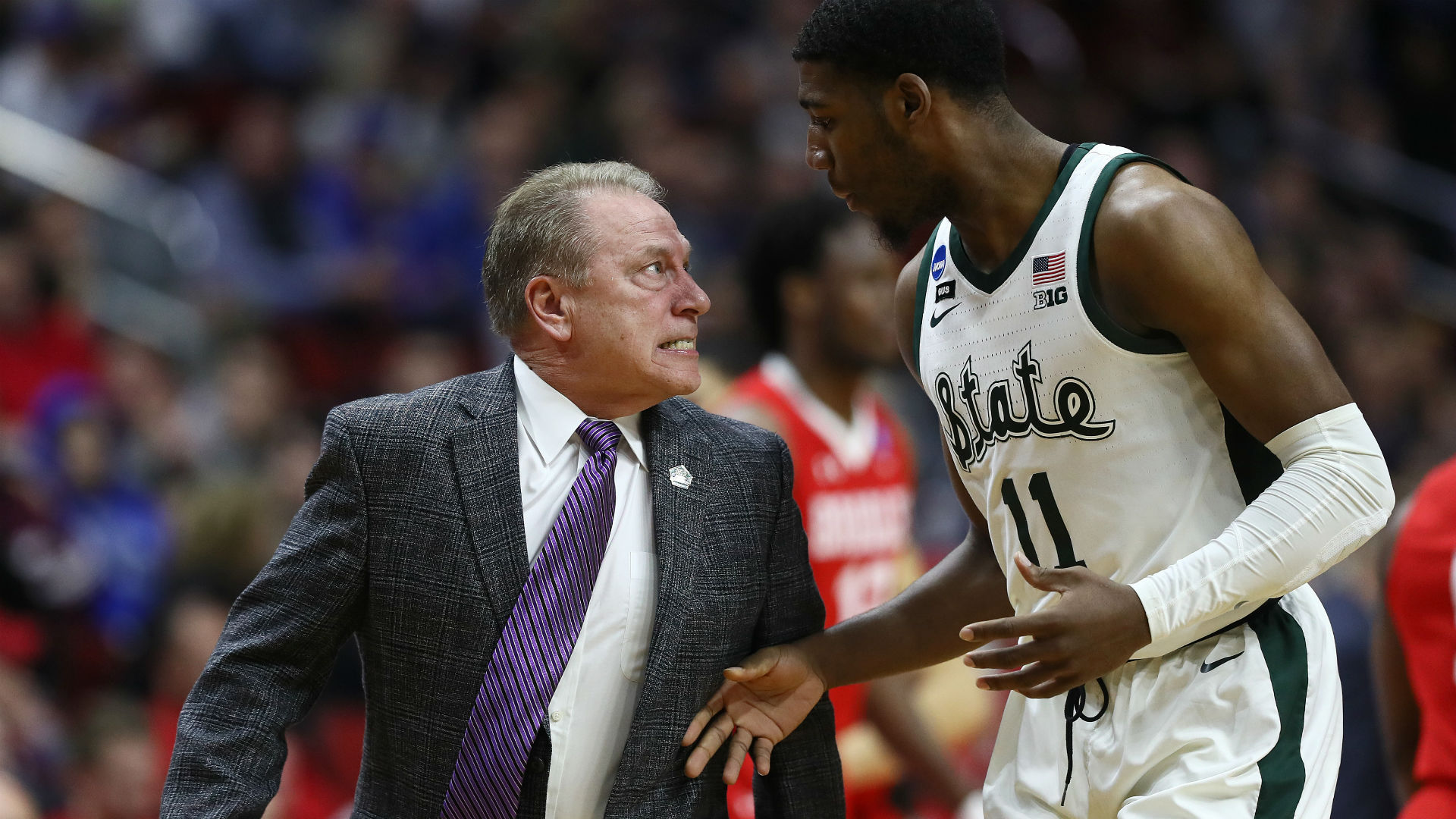 Tom Izzo Addresses Heated Moment With Michigan State Player