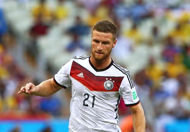 Mustafi con la selección alemana
