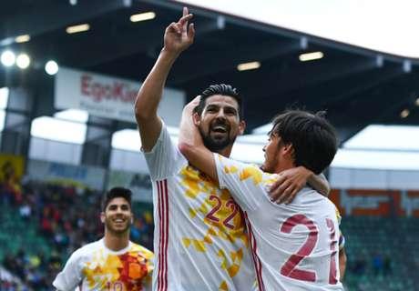 Spain 3-1 Bosnia: Spain rolls