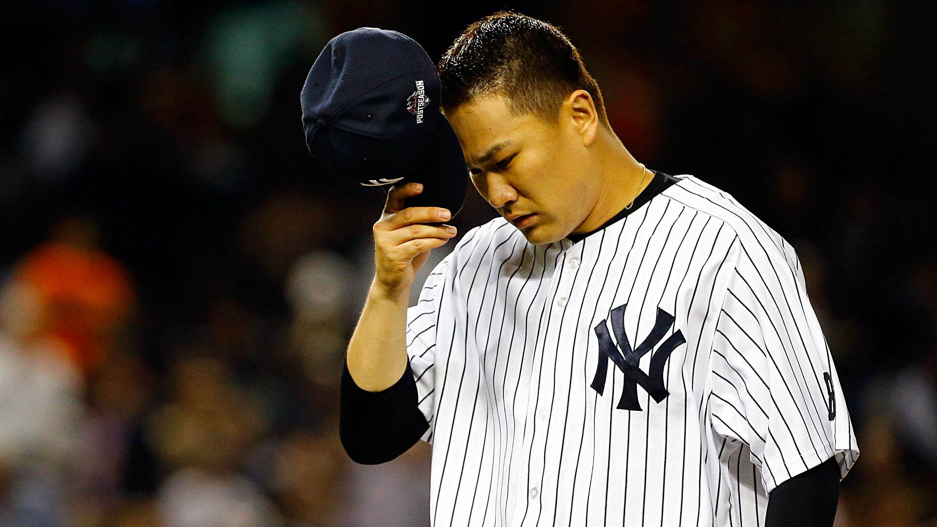 Yankees place Masahiro Tanaka on the 10-day DL with shoulder inflammation