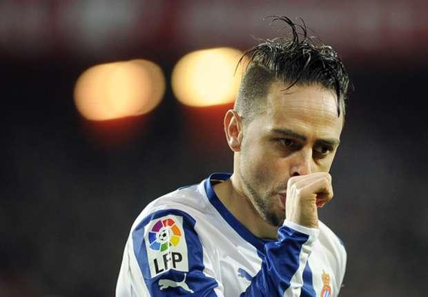 Sergio García celebrando un gol