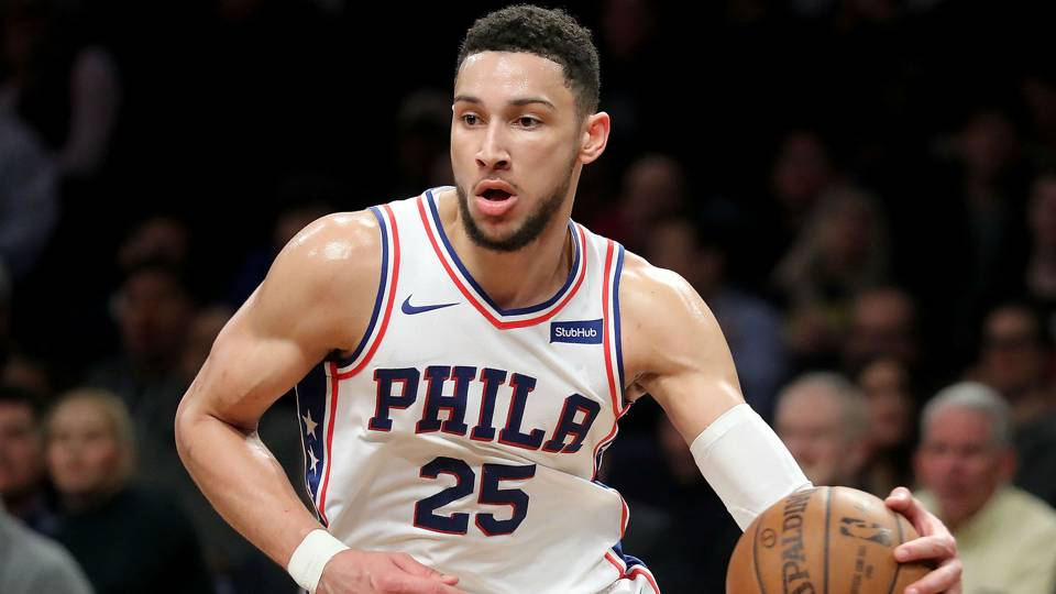 c8361f7bf 76ers rookie Ben Simmons joins Magic Johnson