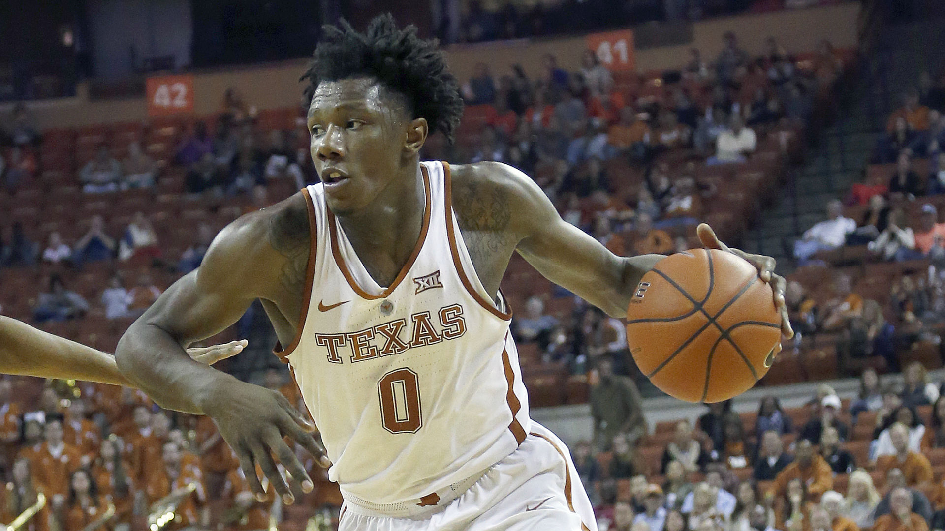Texas F Tevin Mack suspended indefinitely