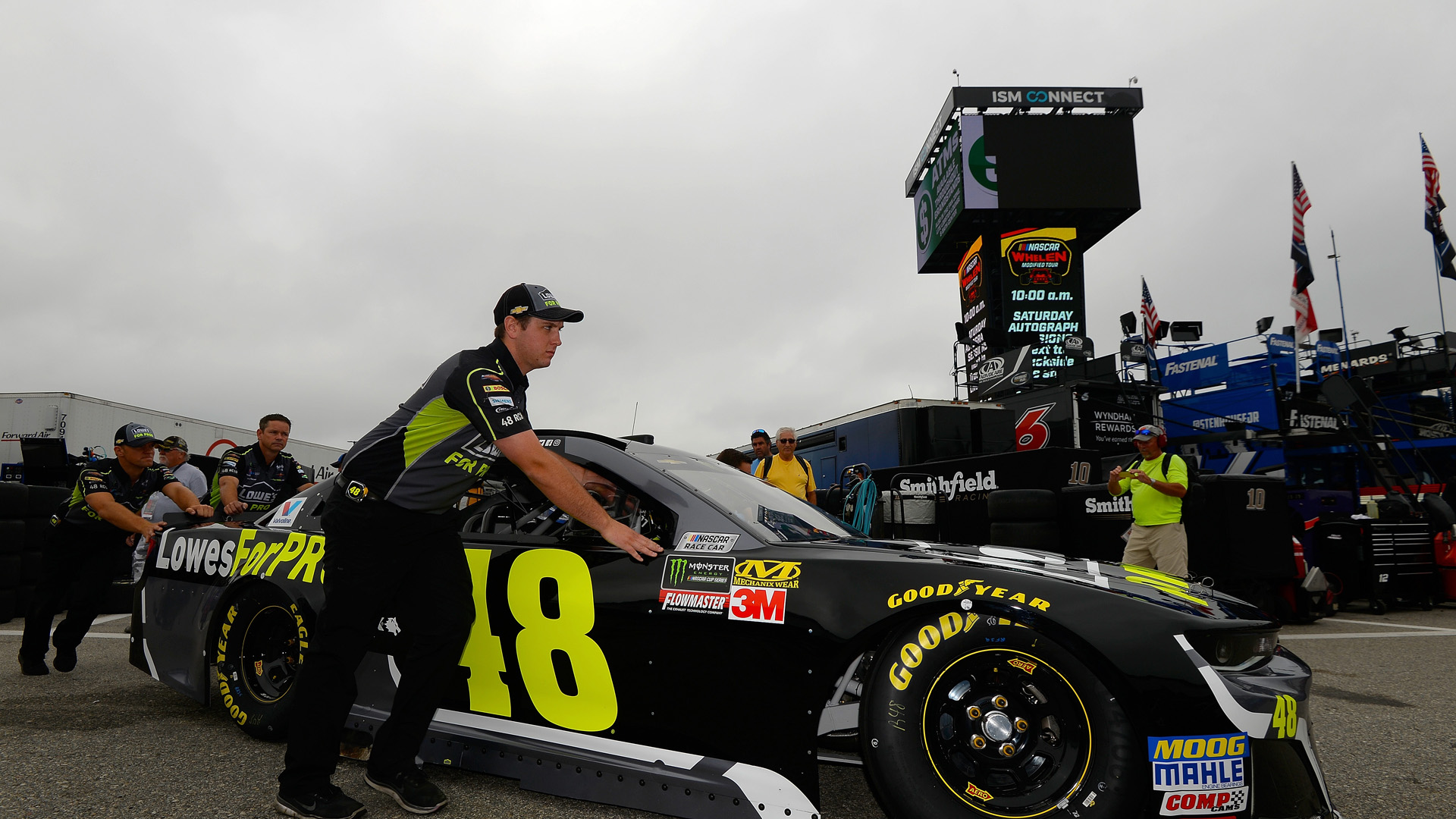 NASCAR at NHMS: Sunday's race moved up to 1 p.m