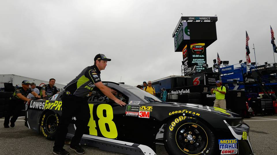 NASCAR at Loudon: Sunday's race moved up to 1 p.m. ET