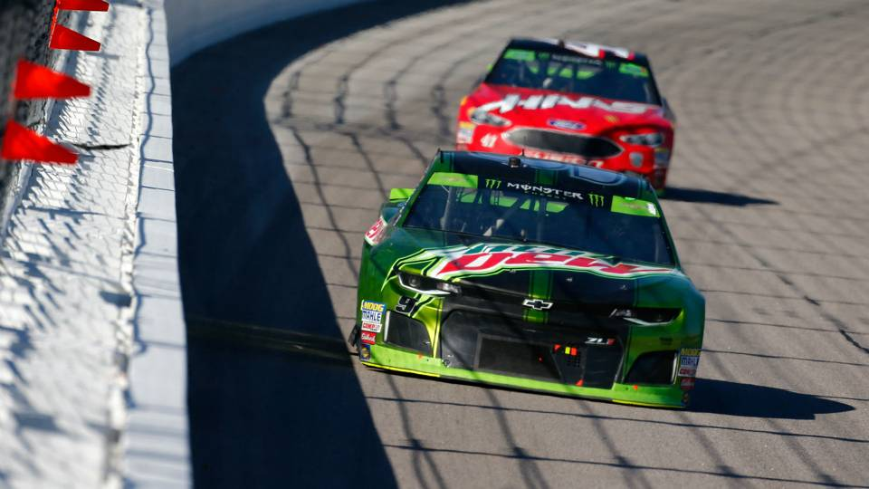 NASCAR results at Kansas: Chase Elliott secures win at Hollywood Casino 400
