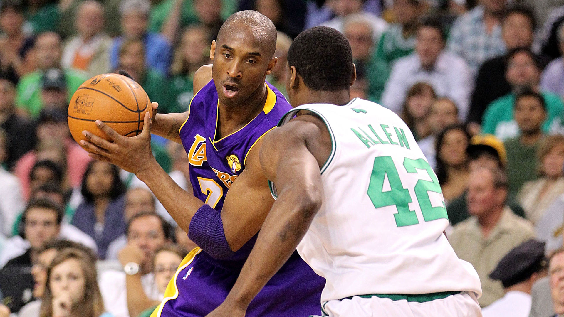 Kobe Bryant and Tony Allen, 2010 NBA Finals