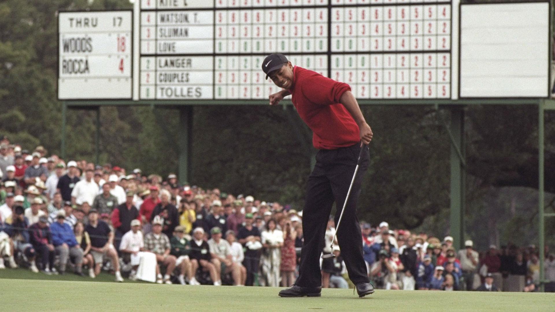 tiger woods u0026 39  new book on 1997 masters will  u0026 39 dispel