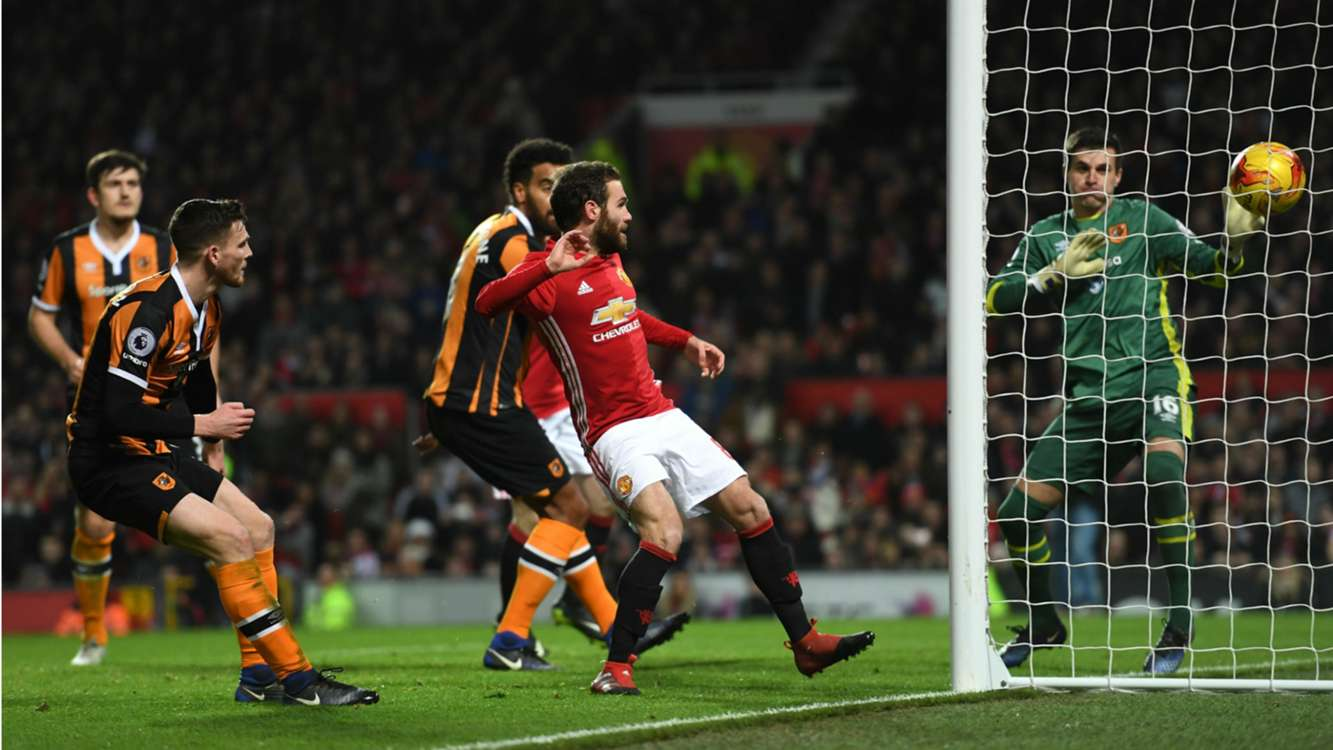Manchester United 2 Hull City 0: Mourinho's men in charge but no record for Rooney