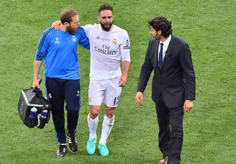 Carvajal suffers injury in UCL final