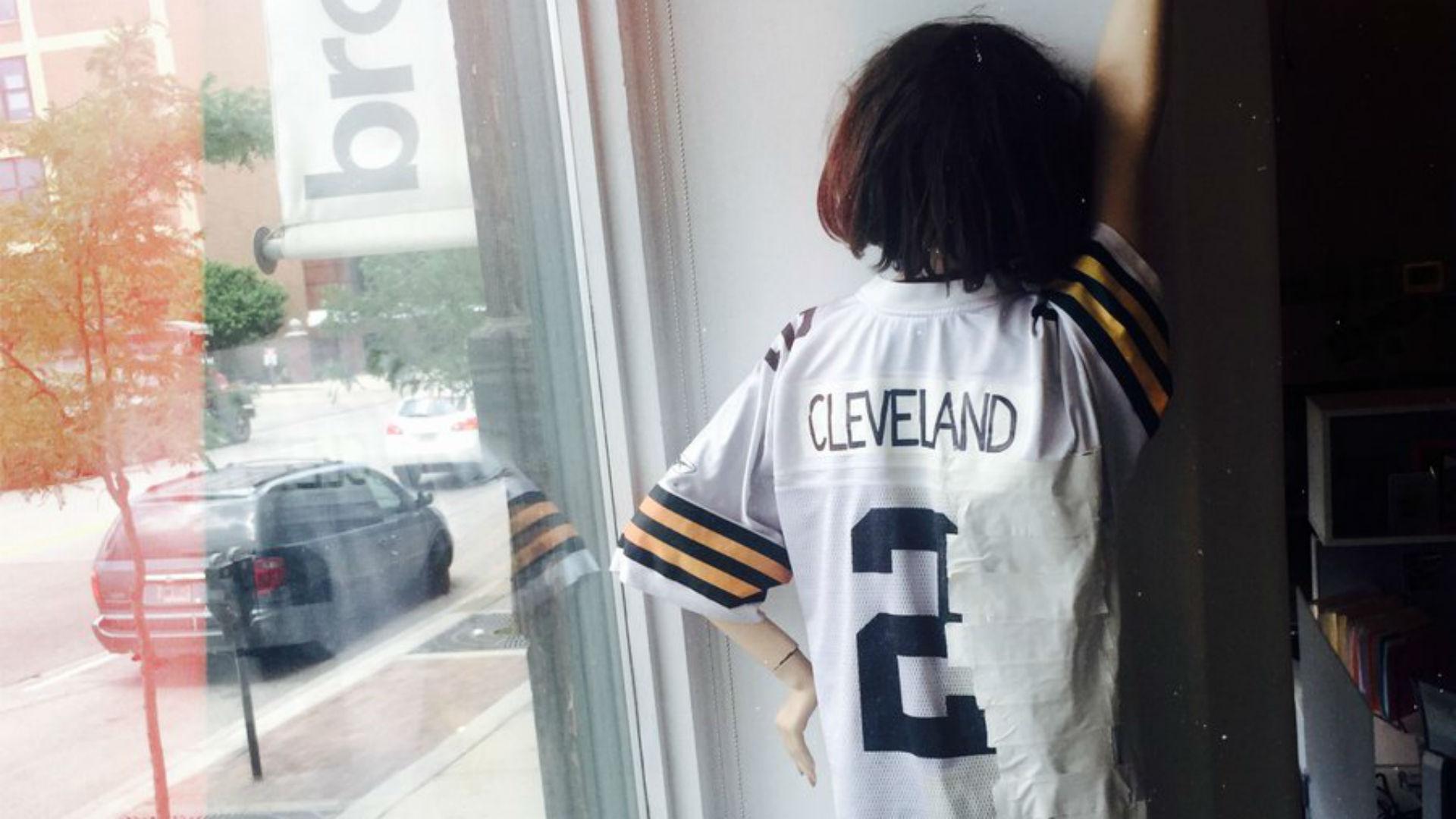cleveland quarterback jersey