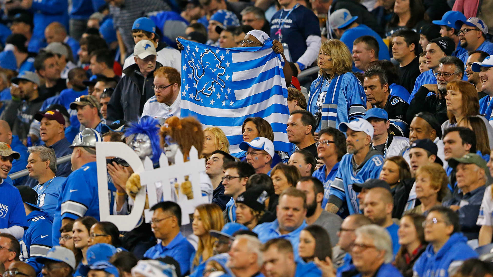 Man loses Detroit Lions season tickets after making racist post