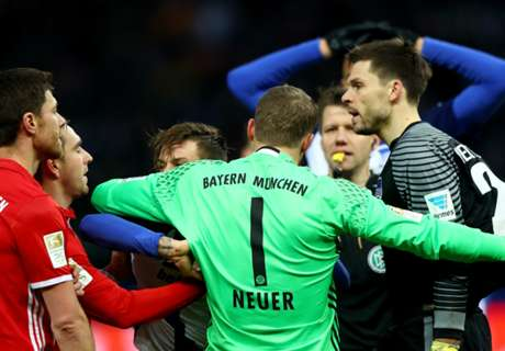 Neuer slams Jarstein after brawl