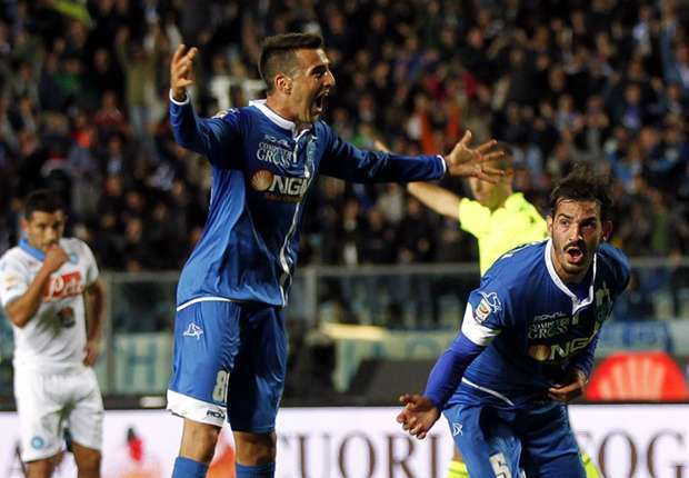 Empoli 4-2 Napoli: Three own goals as Benitez's men see UCL hopes dented