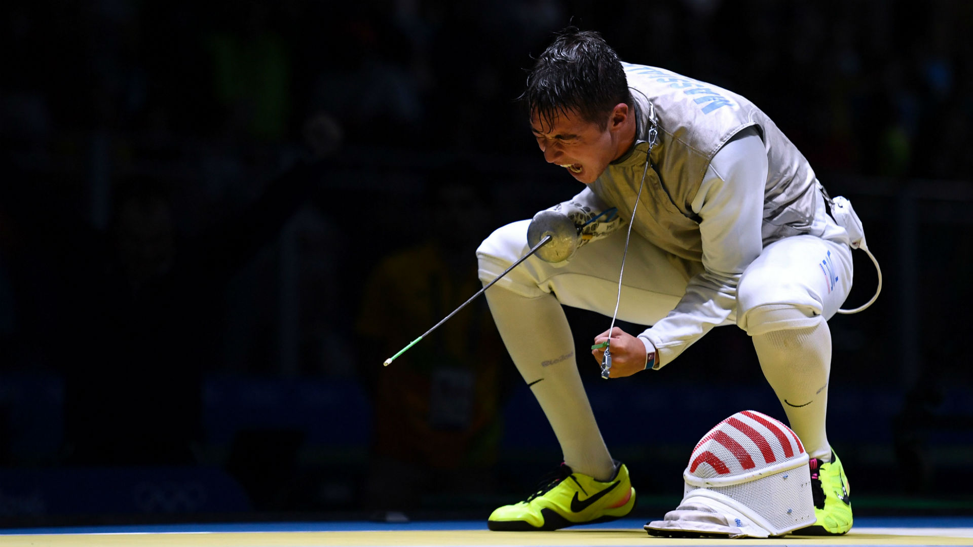Rio Olympics 2016 Alex Massialas Wins First Fencing Medal