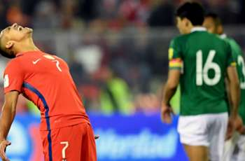 Chile 0-0 Bolivia: South American champions thwarted by visitors
