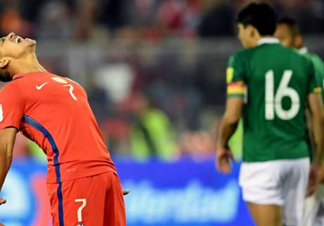 Chile frustrated at home