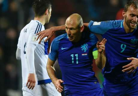 Robben hopeful after injury scare