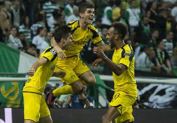 Sporting 1-2 Borussia Dortmund: Aubameyang and Weigl get BVB back to winning ways