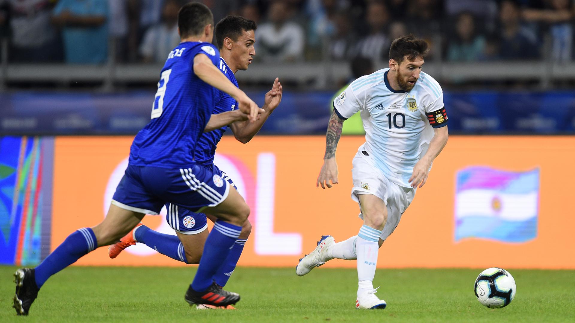 Argentina 1 Paraguay 1: Messi scores but Copa America exit looms