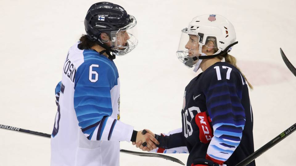 Winter Olympics 2018  Hockey players told not to shake hands because ... f18d2e91829