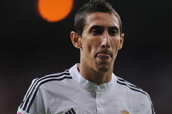 Real Madrid winger Angel di Maria