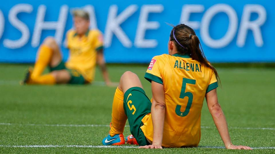 Australia's Laura Alleway
