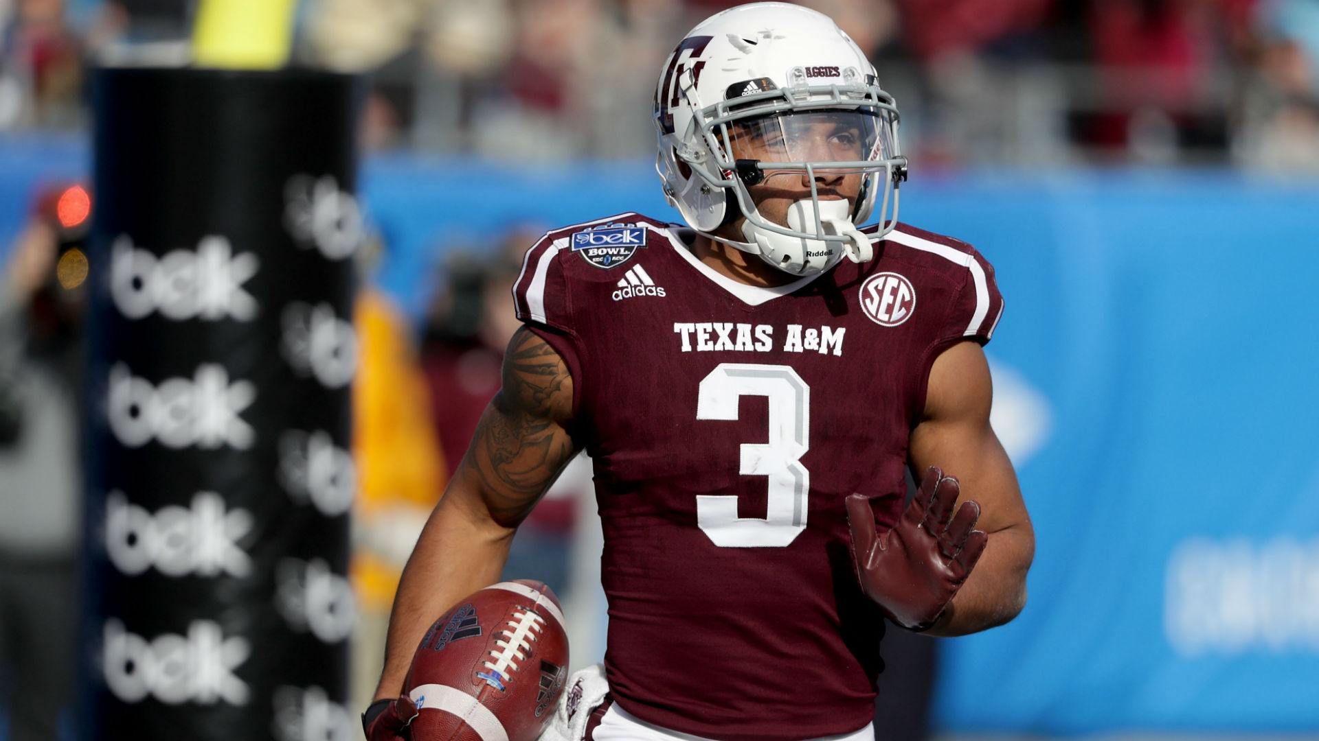 Christian Kirk arrested in February  for disorderly conduct, damaging property