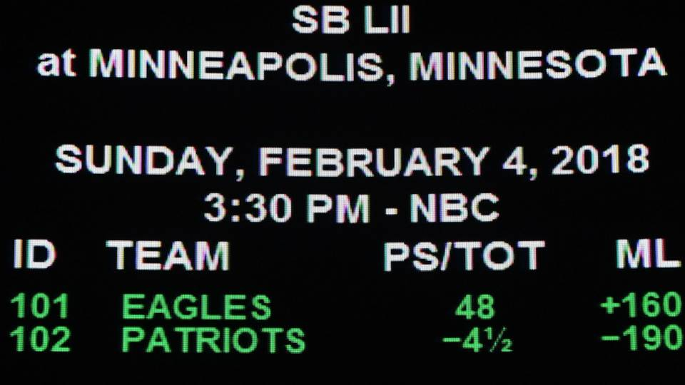 Super Bowl 52  One Las Vegas gambler is wagering millions on Eagles · NFL b847b0e2d