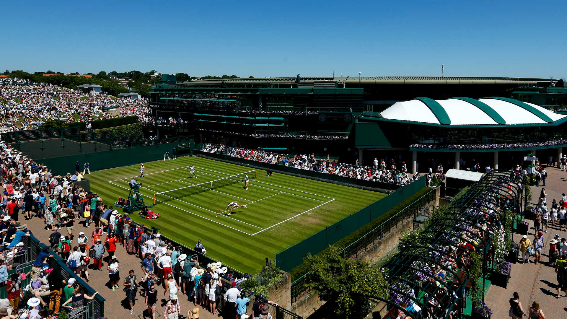 Wimbledon's No. 1 court