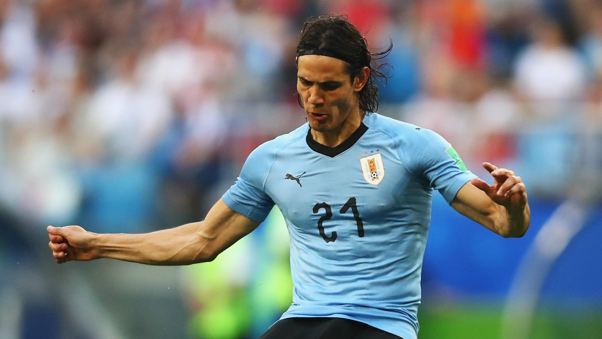 World Cup 2018: Edinson Cavani's goal sends tearful Cristiano Ronaldo home early
