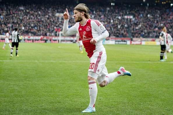 Lasse Schöne miste een cruciale fase bij Ajax