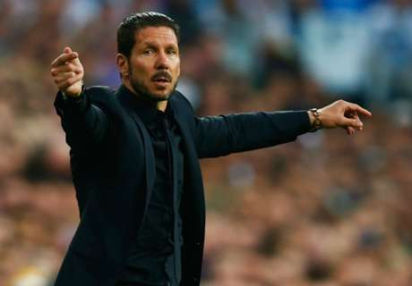 Simeone applauds Atletico response