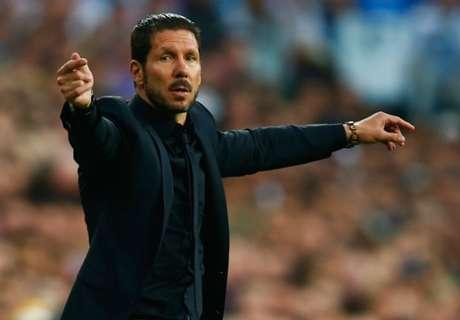 Simeone applauds Atletico response