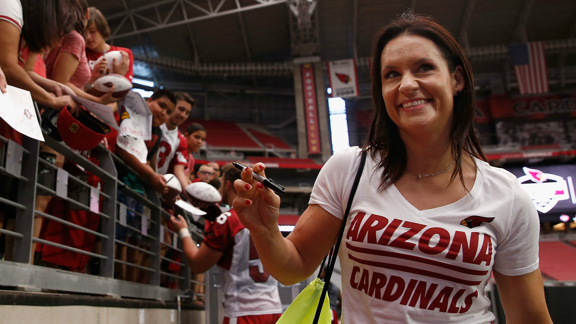 Cardinals' Jen Welter on being hired: 'It's an important step for girls and women'